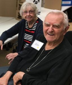 Mary and Don at the RIA Curiosity Fair