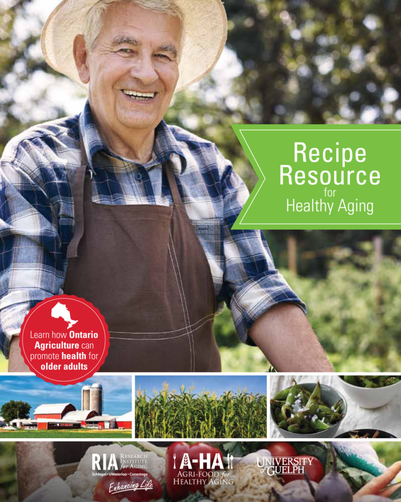 Photo of the title page of the recipe resource