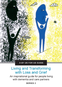 Living with Loss and Greif BUFU Guide cover