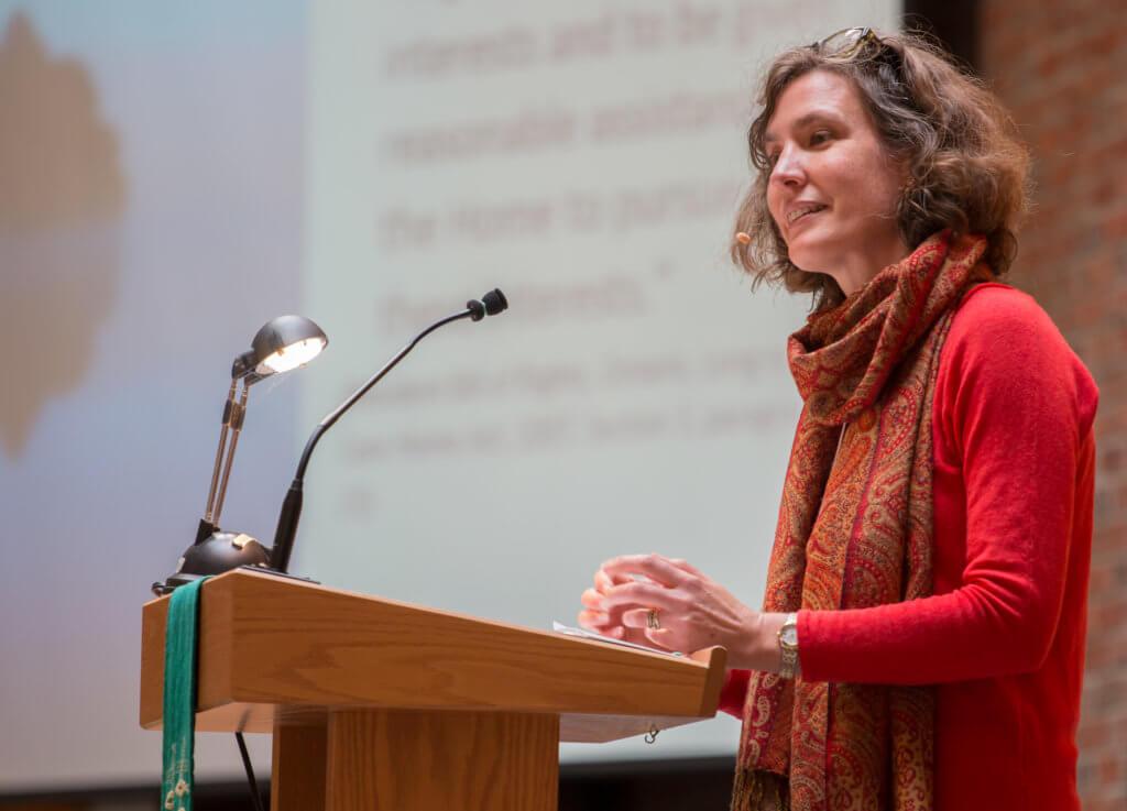 Jane Kuepfer presenting