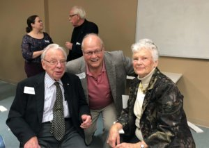Ken Murray, Ron Schlegel, Marilyn Murray
