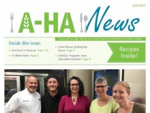AHA Newsletter 2018-19