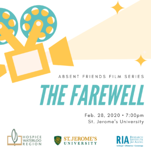Farewell film poster