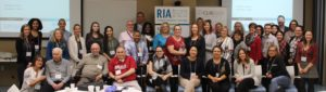 A large group of attendees at one of RIA's Think Tanks