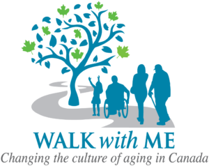 Walk with Me Changing the culture of aging in Canada, logo