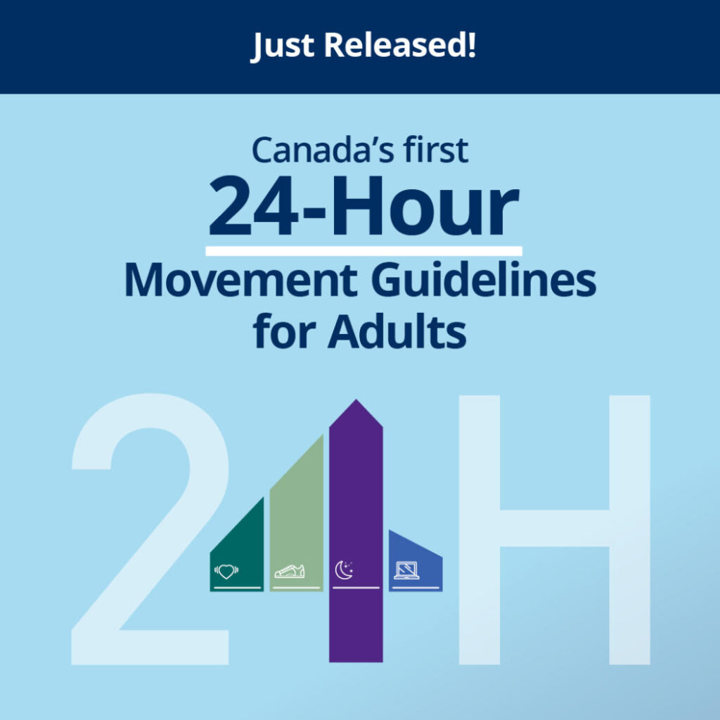 24 hour movement guidelines graphic