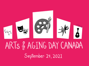 Arts and Aging Day 2021 logo