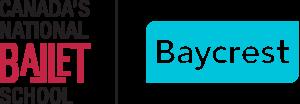 Canada's National Ballet School/ Baycrest logo